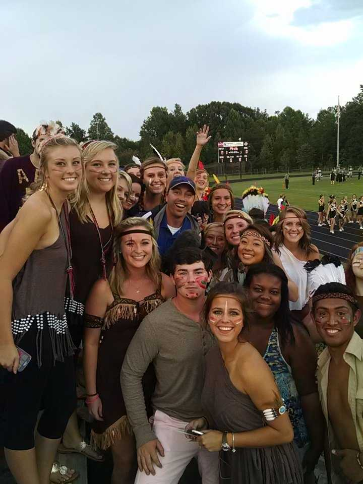 Where's WXII 12's Chris Petersen? Ledford Panthers fans along with C.P.