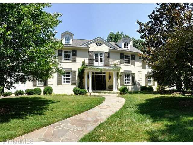 This four bedroom Greensboro home provides 9000 square feet of living space and is priced at $1,850,000.