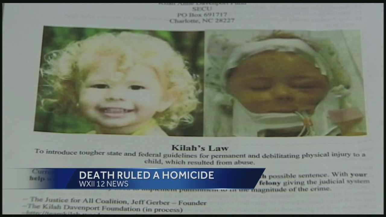 Death of Kilah Davenport ruled a homicide