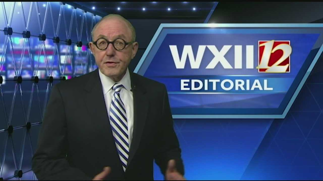 This is a weekly editorial by WXII President and General Manager Hank Price.
