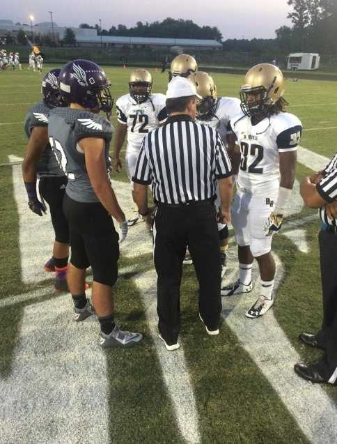 Reidsville - Northern Guilford Coin Toss