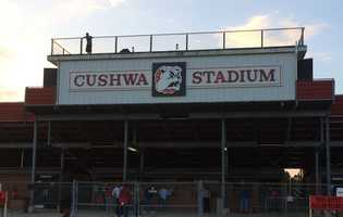 Cushwa Stadium in Thomasville