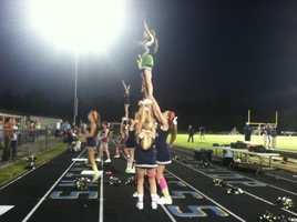 Bishop McGuinness Cheerleaders