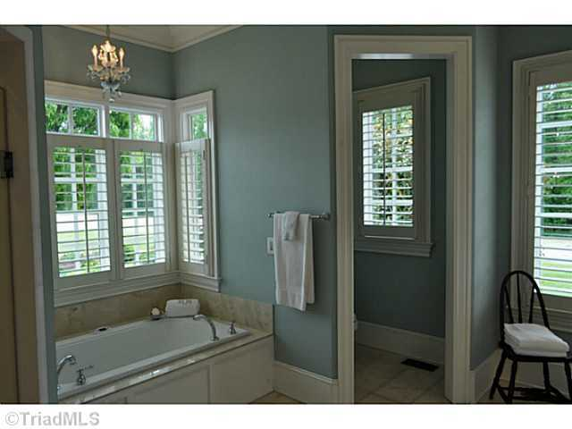 Master Bathroom with private water closet