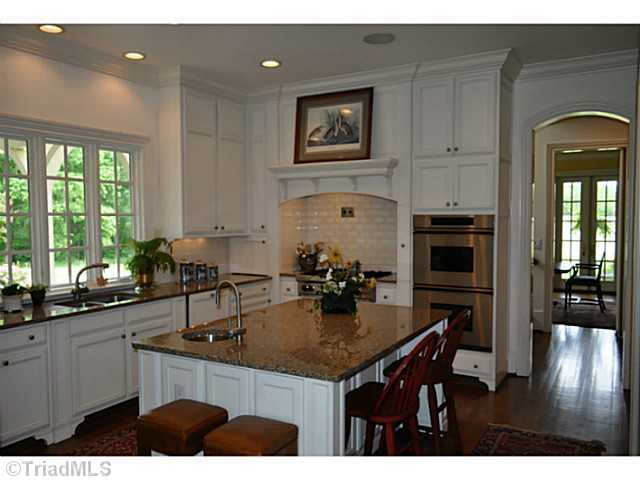 Gourmet Kitchen with bespoke cabinets