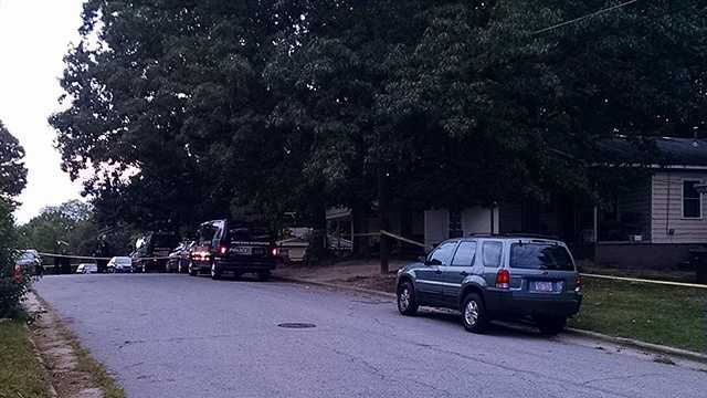 Greensboro police investigated a homicide on Byrd Street early Tuesday. It was the city's third homicide since Sunday night.