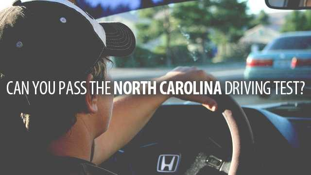 Of course you probably passed the North Carolina driving test once before, but are you still sharp on the rules of the road? Find out how much you've retained by taking this fun driving quiz.