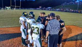 Coin Toss Wilkes Central at West Wilkes