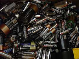 5. It's best to dispose of household batteries that aren't in use anymore. While explosions are rare, they can happen.