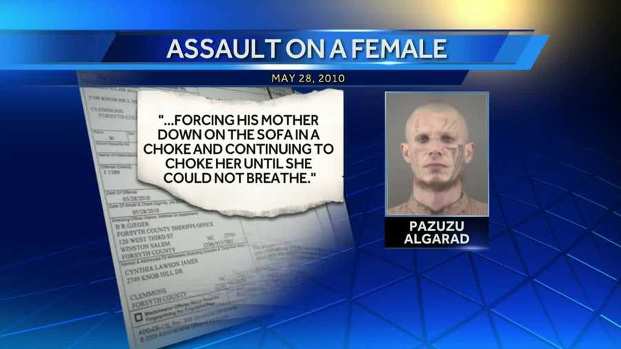 According to court documents obtained Wednesday by WXII. Algarad was convicted in 2010 of misdmeanor assault on a female.