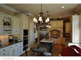 Gourmet Kitchen with large walk-in pantry