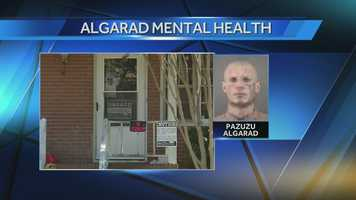 According to the documents, Algarad also has an intense fear of wide-open places. Court documents concluded Algarad's ability to proceed to trial was in question.
