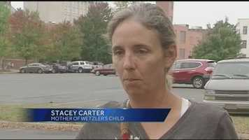 On Monday, WXII's Sabrina Santucci spoke exclusively to Stacey Carter, the mother of Wetzler's son. | Click here to watch the story.