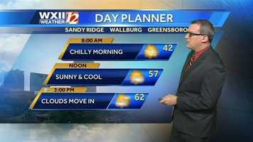 We'll start with Friday's day planner.