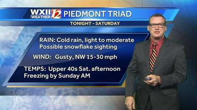 Brian Slocum's weather timeline