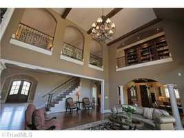 Two-story Great Room with catwalk