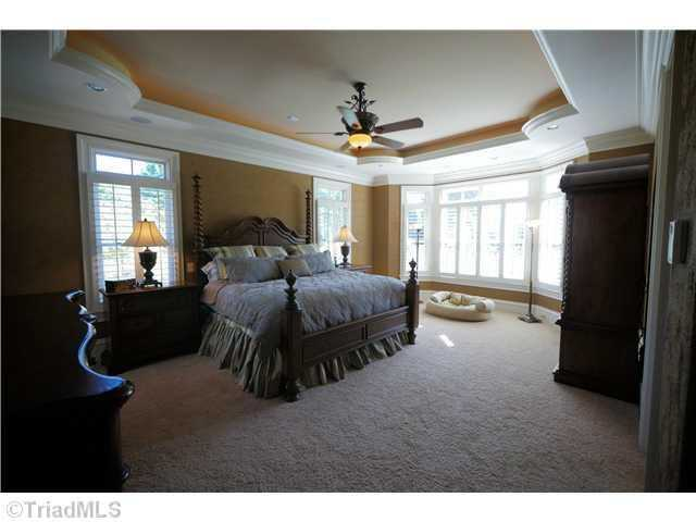 All five bedrooms are suites