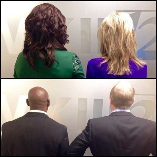 Friday was the big day as we met the WXII Look-alikes! Check out these photos.