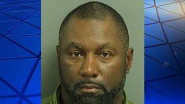 Arrest photo of Wake Forest High School football head coach Reggie Lucas