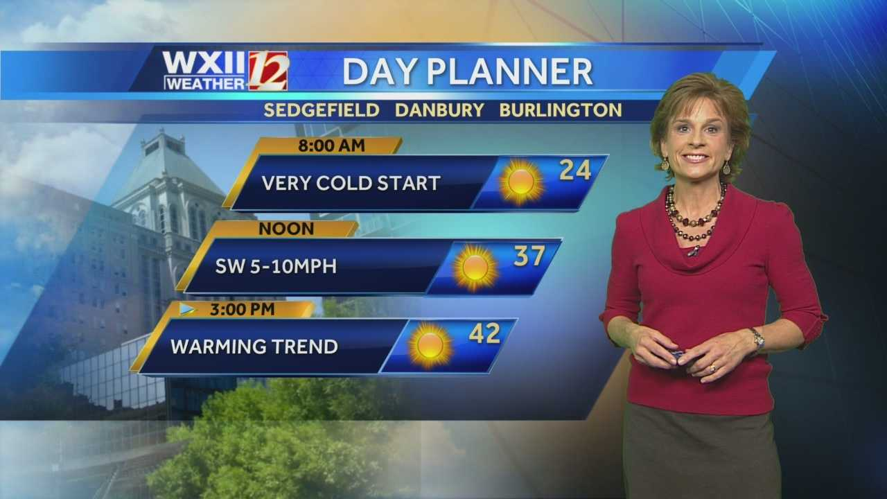Chief Meteorologist Lanie Pope has your cold forecast for this third week of November.