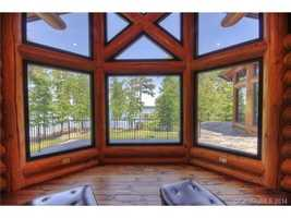 Master Bedroom View of Lake Norman