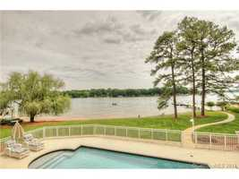View of Lake Norman from the property