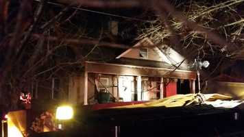 A 2-year-old was killed in a Sunday evening house fire in Surry County, WXII 12 News has learned.