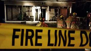 The Mount Airy News reported that a second person in an adjacent apartment was treated for smoke inhalation. The fire caused extensive damage to the two-story home which was renovated into two separate apartments, the newspaper reported.
