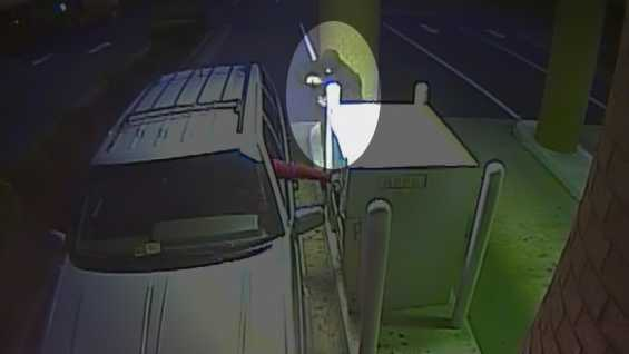 Surveillance image of Henry County ATM robbery suspect