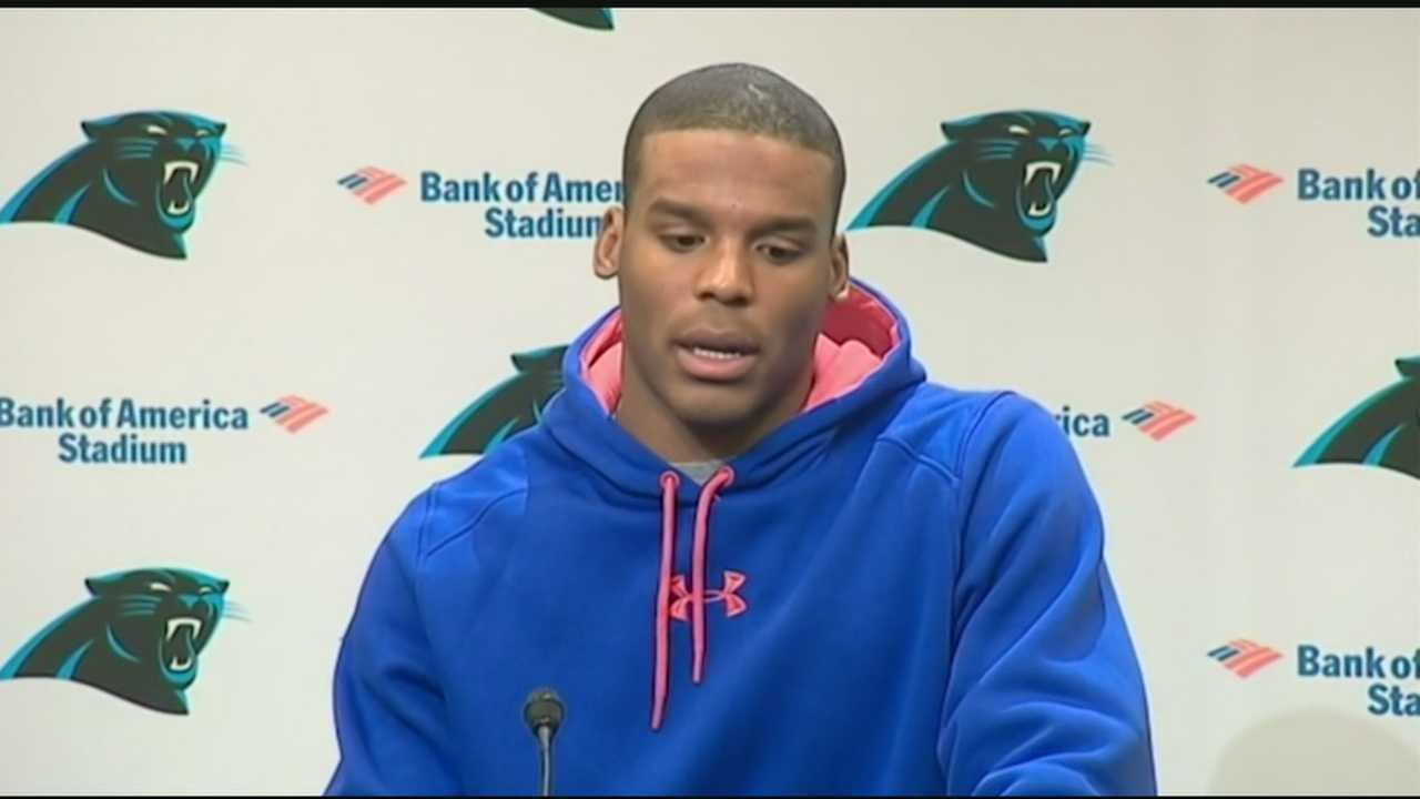 Panthers QB, Cam Newton spoke to the media today about his accident and the his future role with the Carolina Panthers.