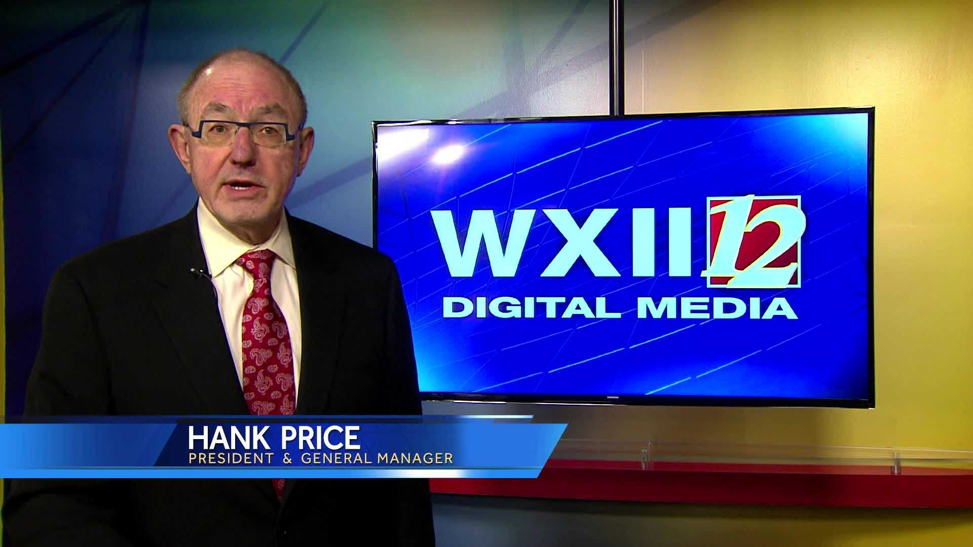 WXII President and GM Hank Price