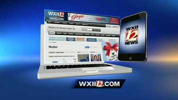 You can also download our new WXII Weather App for the iPhone and Android.