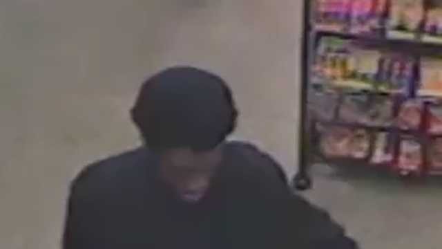 Surveillance image of Thomasville convenience store armed robbery suspect