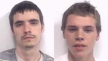 Thomas Bray, left, and Brice Kissee, right