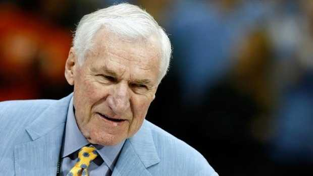 Dean Smith lead North Carolina to 11 Final Fours and two national championships.