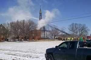 More than 60 firefighters from 20 different departments responded to the scene.