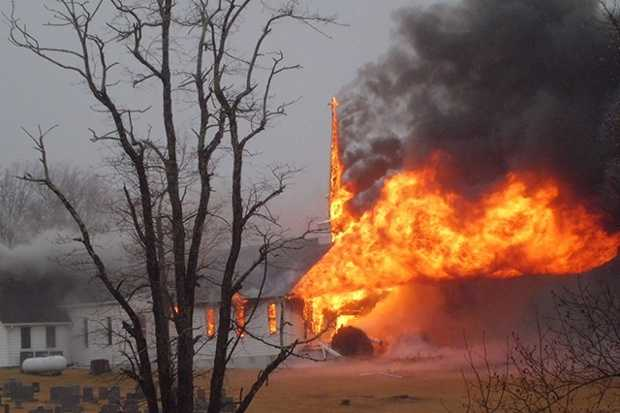 A Patrick County church suffered extensive damage in a fire Thursday.