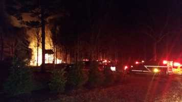 Firefighters battled a fire at a business early Thursday morning.
