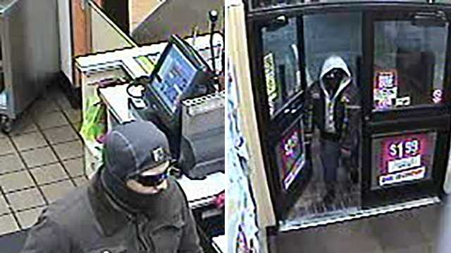 Surveillance image of suspects in Mount Airy Sheetz robbery