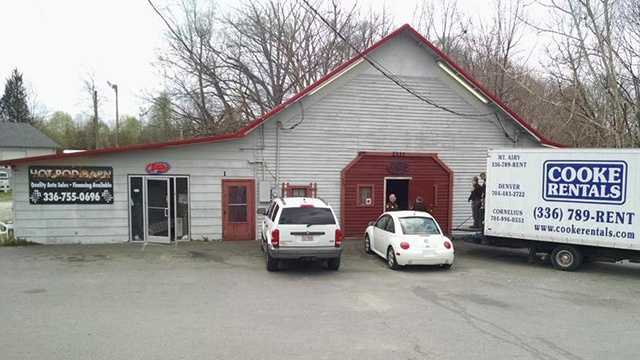 Video gambling raid at The Barn in Mount Airy