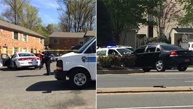 Left: Shooting scene. Right: Standoff scene.