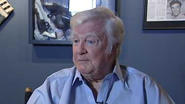 "James Best was interviewed by Cameron Kent for an ""Andy Griffith Show"" special last fall."