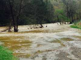 Elk Creek in Grayson County