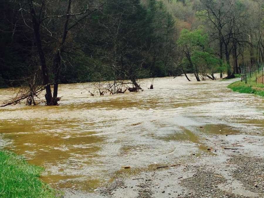 Elk Creek in Grayson County
