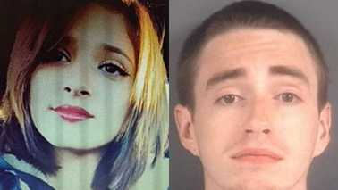 Vanessa Sanchez, left, and Andrew Tomczak, right