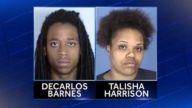 Decarlos Barnes, Talisha Harrison