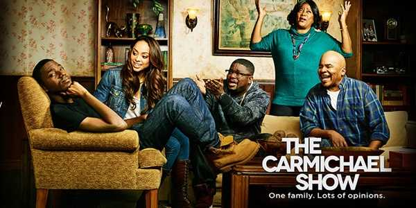 """The Carmichael Show: Returns Soon. From the comedy of Jerrod Carmichael and Nick Stoller (""""Neighbors"""") comes an irreverent sitcom inspired by Jerrod's relationships with his say-anything, contrarian father, his therapist-in-training girlfriend, his ever-hustling brother and his mother who is always, always, always right with Jesus. Taking the next step and moving in together, Jerrod and his girlfriend, Maxine, are your average young couple trying to make it in the city. They're smart, motivated and looking to build a fulfilling life together. The only thing standing in their way is family. Between Jerrod's larger-than-life brother, Bobby, and his smothering and passionate parents, Jerrod and Maxine are put to the test navigating the boundaries of romance, family and sanity.Cast: Jerrod Carmichael, Loretta Devine, David Alan Grier, Lil Rel Howery, and Amber Stevens West."""