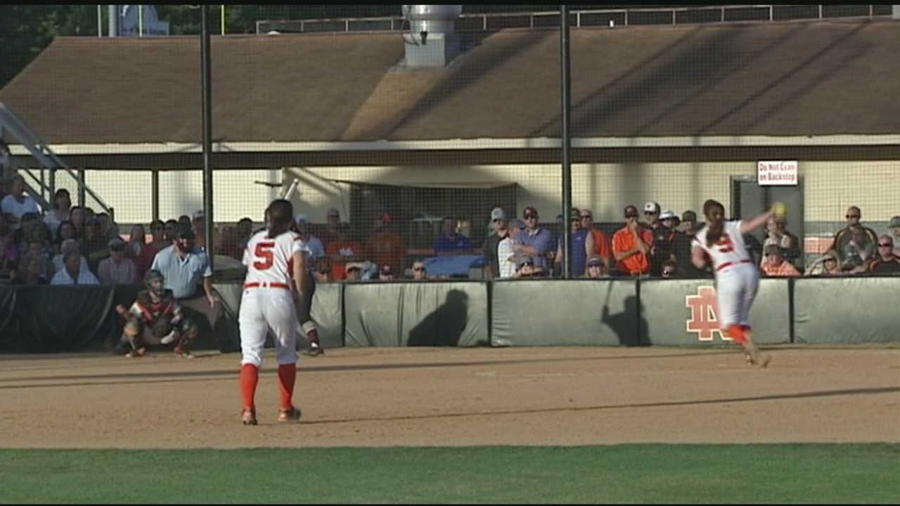 The Lady Knights are heading back to the NCHSAA 4A Softball State Finals after defeating South Caldwell in two straight games.