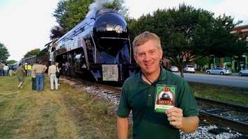 WXII's William Bottomley scored a seat on the historic ride. Check out his photos!