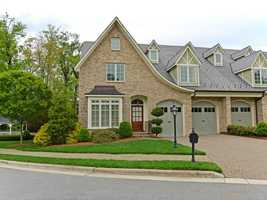 This five bedroom townhome is located in Greensboro and priced at $1,225,000